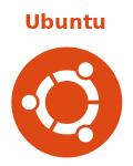 Ubuntu лого+название